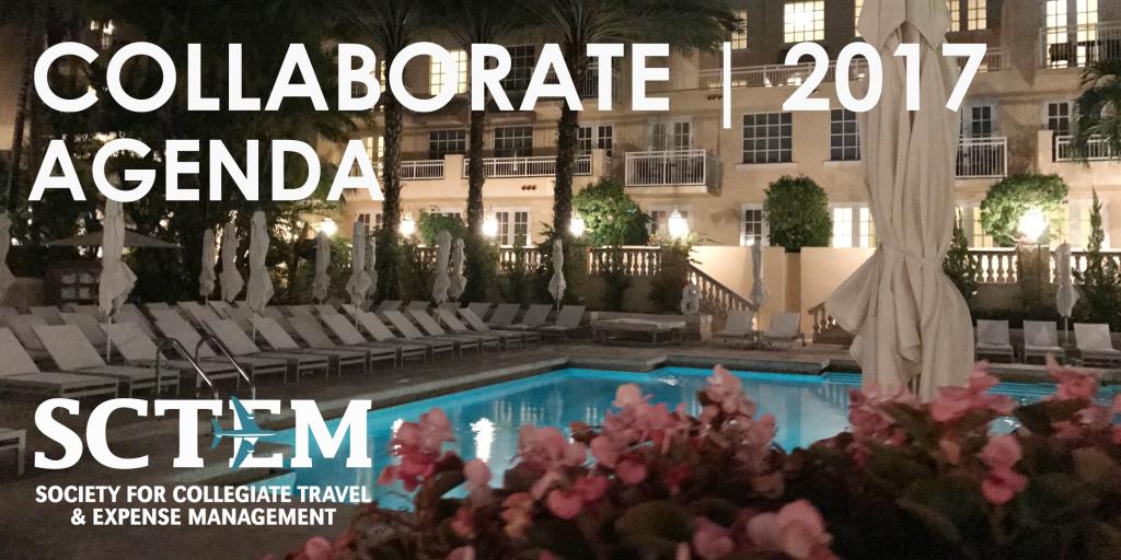 SCTEM Agenda 2017 Conference