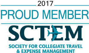 Proud Member Society for Collegiate Travel and Expertise Management